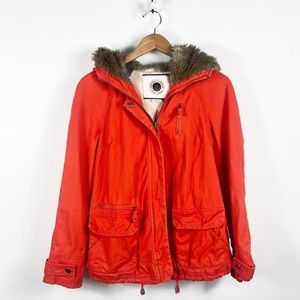Anthro Daughters of Liberation Pintuck Parka